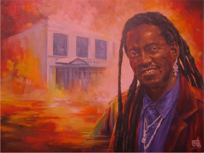 Adewale Adenle Painting