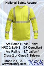 NSA High Vis Arc Flash t-Shirt