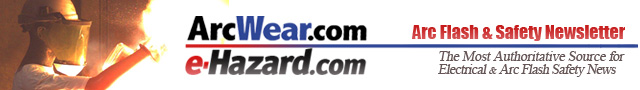Arc Flash and Safety Newsletter banner
