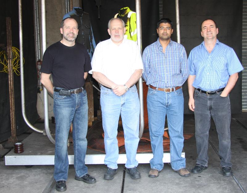Arc Flash Visit by SA Bureau of Standards to ArcWear & Kinectrics