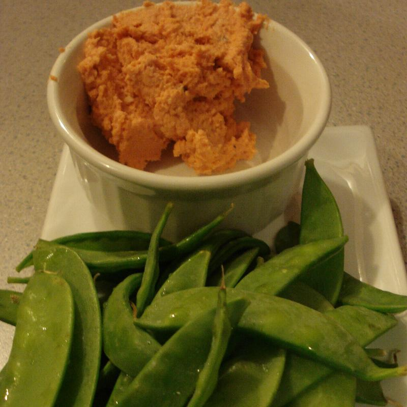Smoked Salmon Pate with Peapods