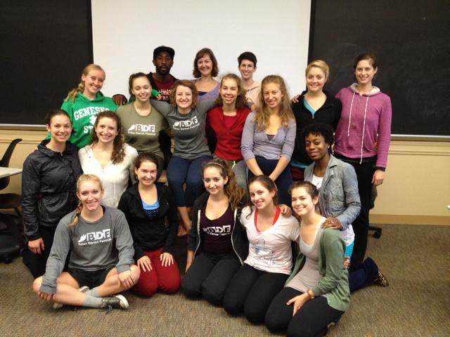 Business of Dance Class 2013
