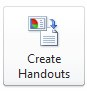 Create Handouts button