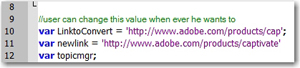 URL changed