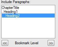 Bookmark Hierarchy