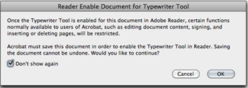 Enable Adding Text in Documents (that are not fillable forms)