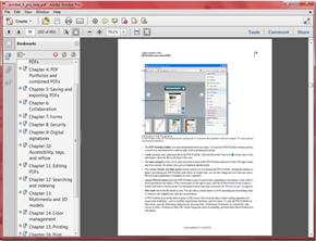 Help as a PDF: Acrobat X