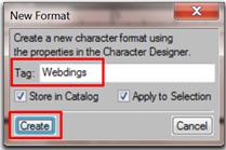 Apply, then create!