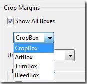 Adobe Acrobat 9: Crop areas