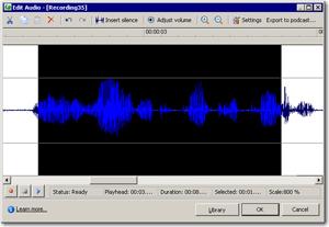 Adjusted Audio