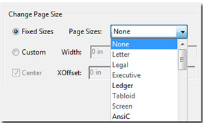 Adobe Acrobat 9: Change page size