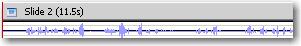 Waveform on the Timeline