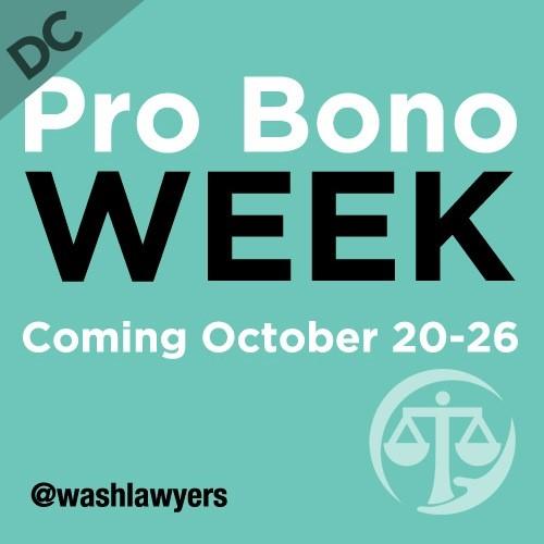 DC Pro Bono Week