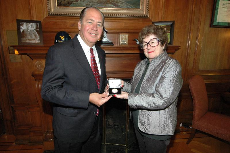 Gov. Tomblin & Sec. Goodwin