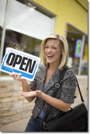 Open a business photo