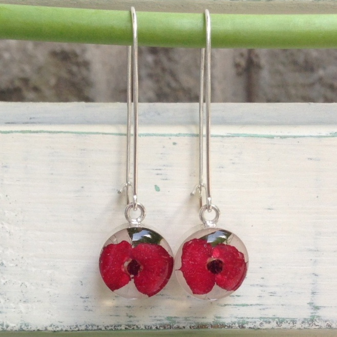 Fresh Flower earrings
