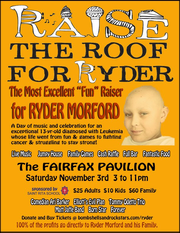Raise the Roof for Ryder