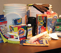 clean up bucket
