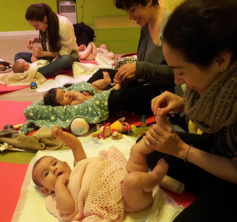 masaje bebes