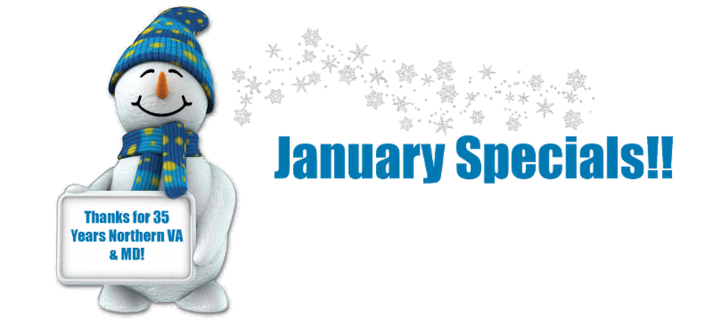 January 2015 Windows Special Northern VA & MD