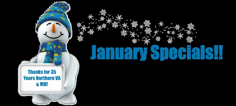 January 2015 Windows Special Northern VA & MD
