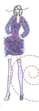 fashion show illustration