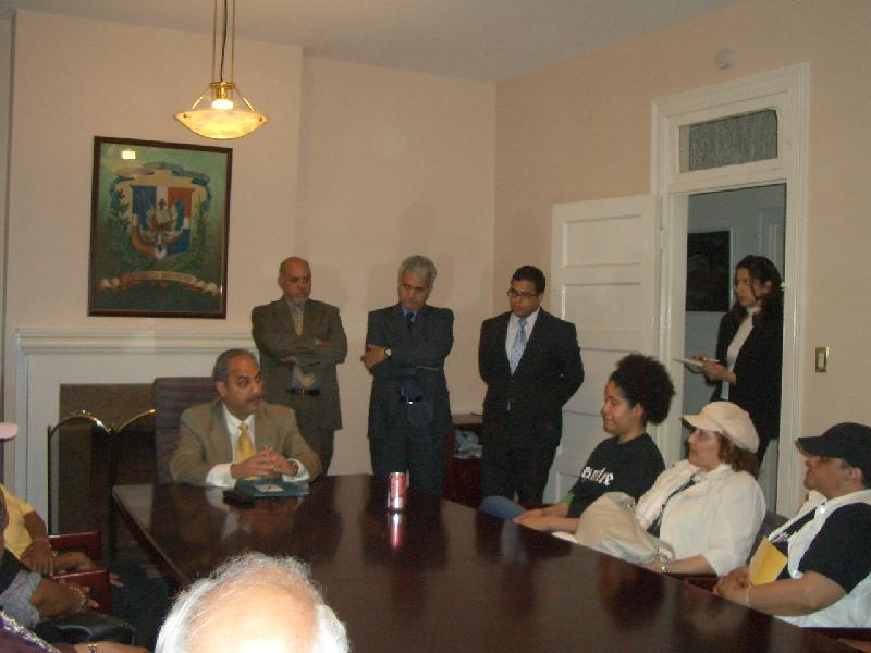 Meeting with Dominican Embassy 2006