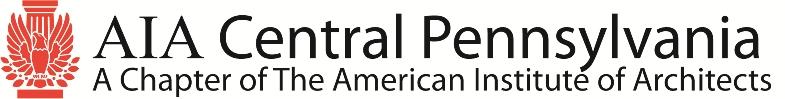 AIA Central PA Logo and Tagline