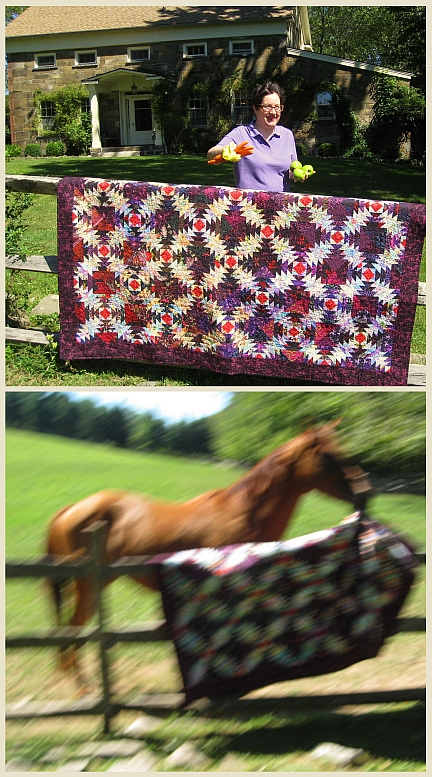 Labor Day 2010 Pineapple Quilt