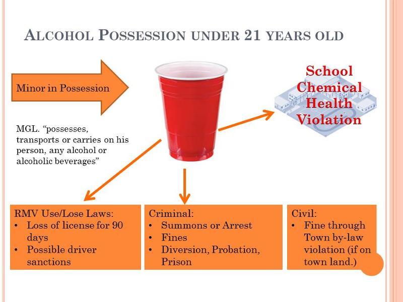 Alcohol Possession