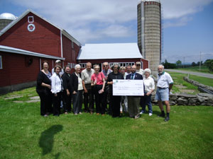 Pittstown check presentation