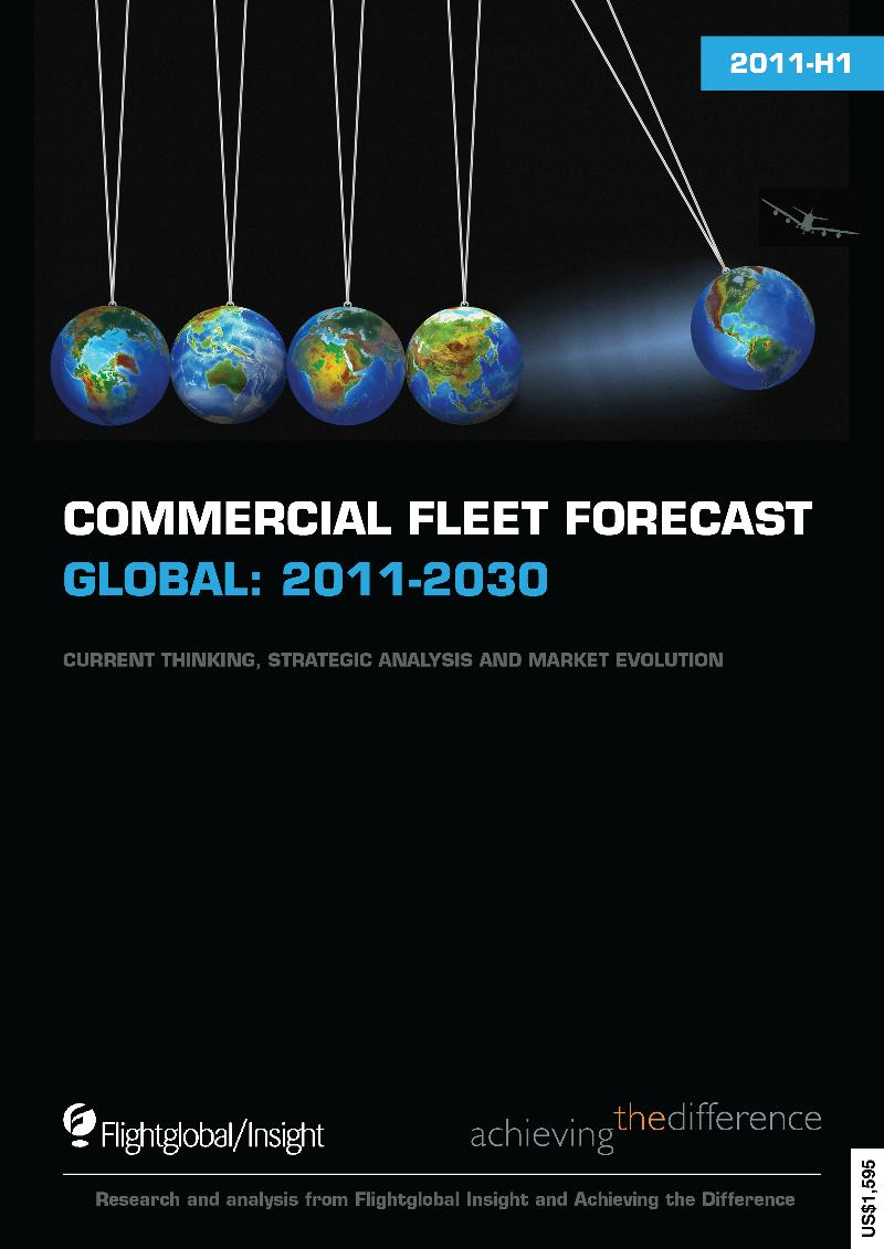 Commercial Fleet Forecast 2011-H1 Cover