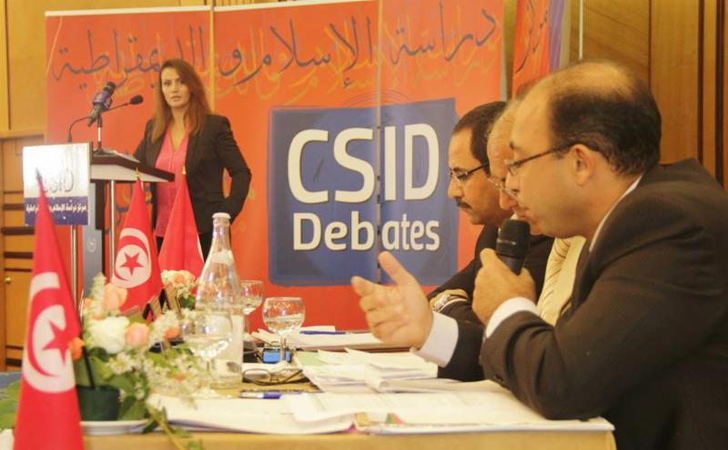 TV debate between the political parties about: Challenges and economic programs