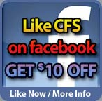 Like CFS on Facebook and save ten dollars