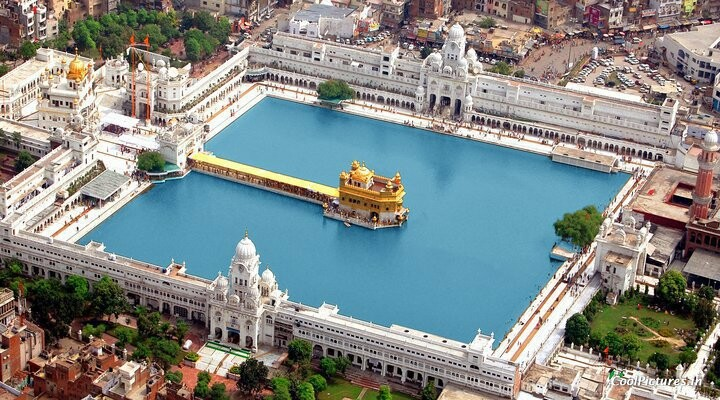 Image result for aerial shots of golden temple