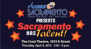 "Mark your calendar for ""Sacramento Has Talent"" April 4 at the Crest Theater"