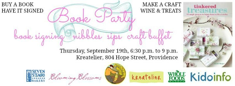 Tinkered Treasure Book Party