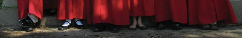 Choristers' shoes