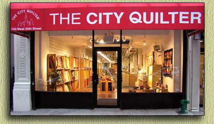 The City Quilter storefront photo