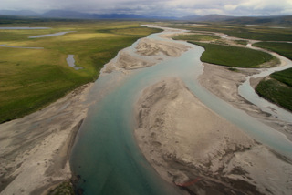 The Noatak River and its surrounding watershed (3,035,200 hectares) within ARCN is an internationally recognized Biosphere Reserve (UNESCO).