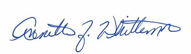 Annette's Signature