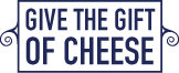 gift of cheese blue
