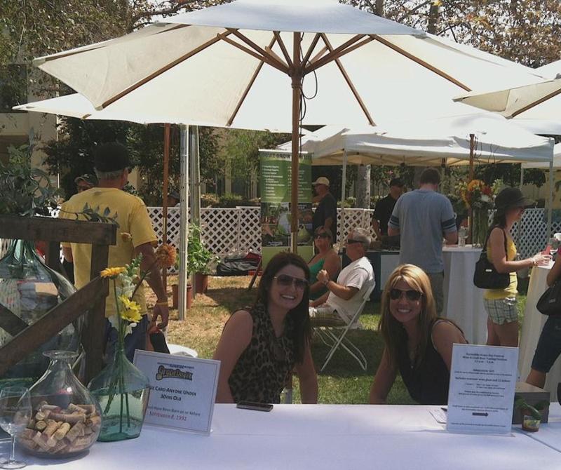wine tasting pavilion