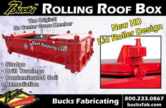 Rolling Roof Container
