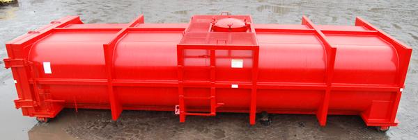 Red Vacuum Box