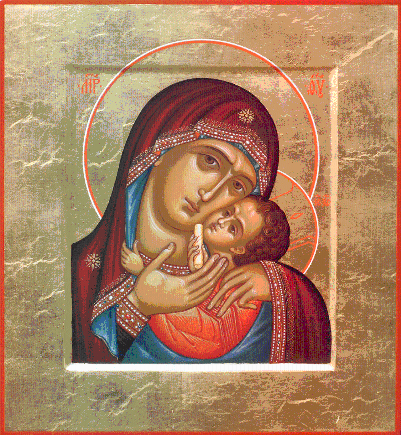 Icons in Transformation: Madonna and child