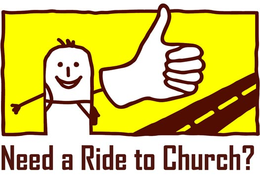Need a Ride To Church_