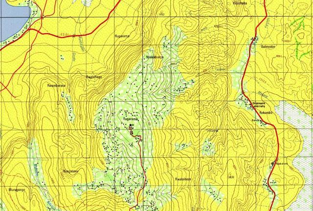 The Evg Scope Vietnam Geological Maps Rwanda Topographic Maps