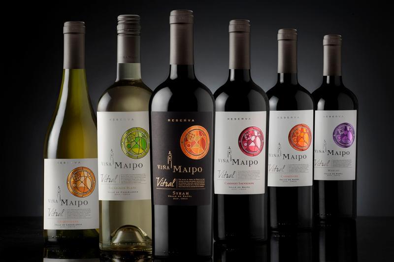 Vina Maipo Bottles
