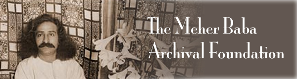 Meher Baba Archives Masthead